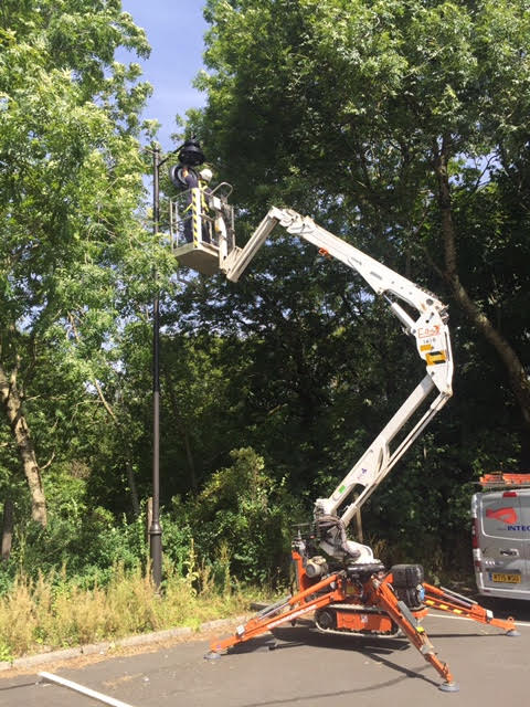 cherry picker hire in Cardiff